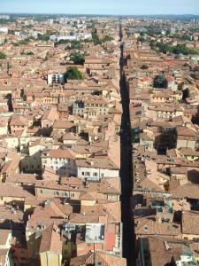Bologna, vue de Strada Maggiore