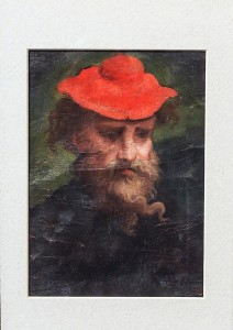 Parmigianino-Autoritratto